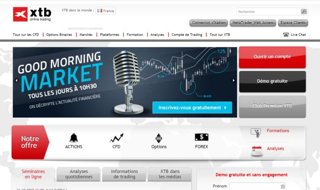 Avis trading options binaires