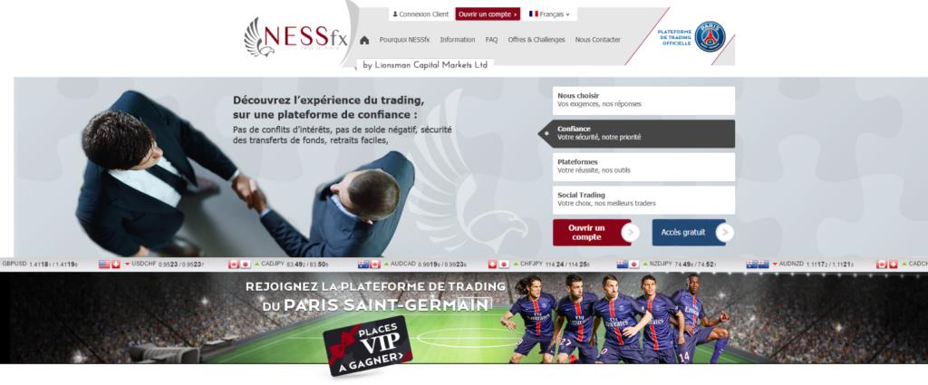 nessfx trading en ligne