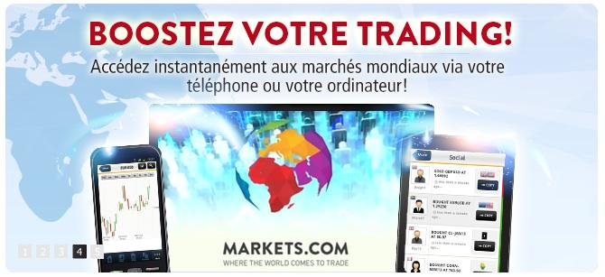 markets trading